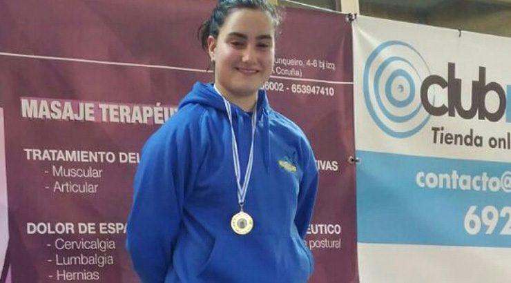 Eva Espinosa, de ouro