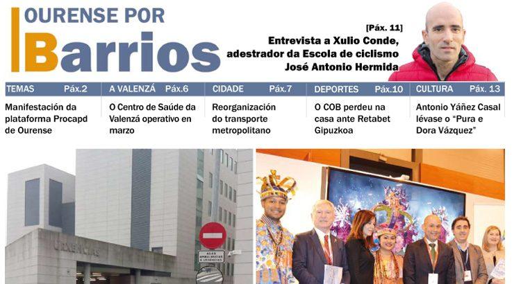 Publicado o número de xaneiro do Ourense por Barrios