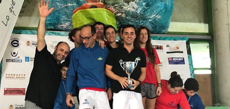 El Club Salvour, mellor equipo galego máster