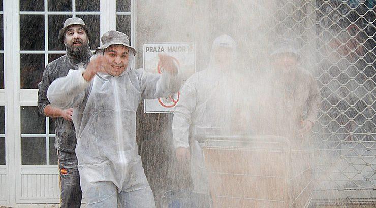 Domingo Fareleiro en Xinzo. /MIGUEL REJO.