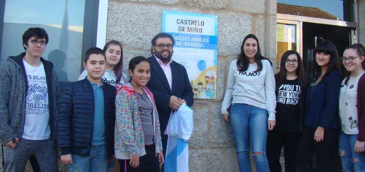 Castrelo de Miño, na rede Cidades Amigas da Infancia