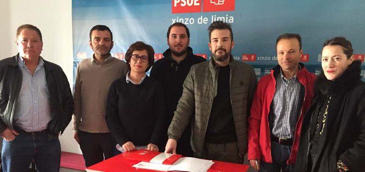 Os socialista da Limia preocupados pola couza