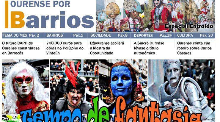 Ourense por Barrios febreiro 2017