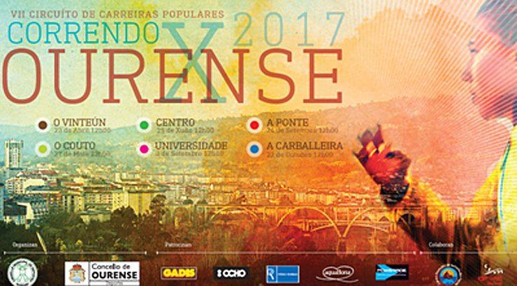 """Inscrición abertas para o """"Correndo por Ourense"""""""