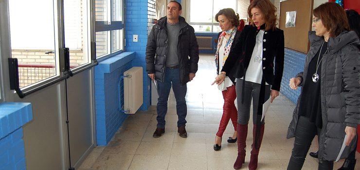Actuacións no CPI Antonio Faílde e no CEIP de Seixalbo