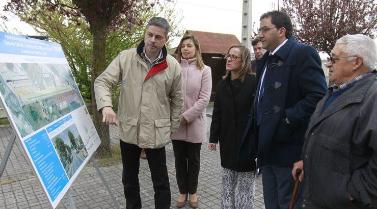 As obras da avenida de Celanova, en Xinzo, comezarán en verán