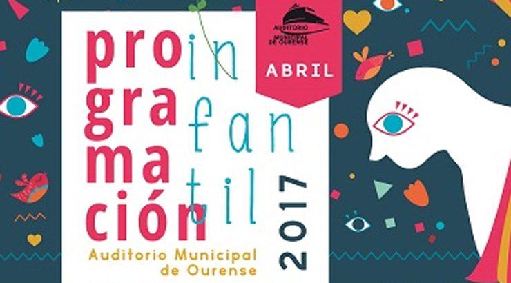 O Auditorio de Ourense presenta a programación infantil para o trimestre abril, maio e xuño