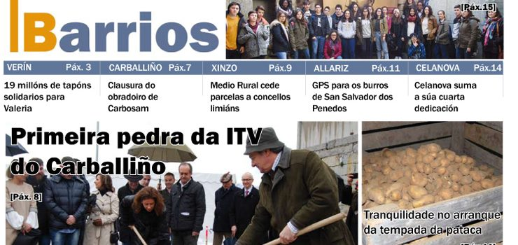 Publicado o número de marzo do Barrios