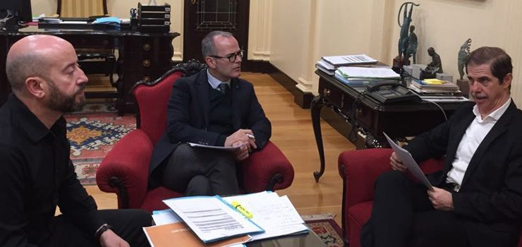 Concello de Ourense e Confederación Hidrográfica acordan diversas actuacións sobre as canles dos ríos