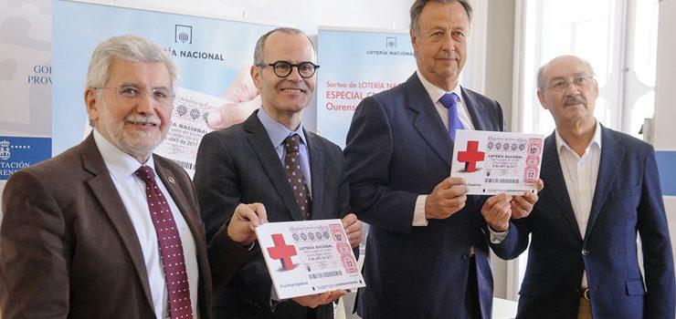Ourense repartirá os premios do Sorteo especial «Cruz Vermella» de Lotaría Nacional