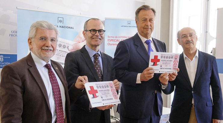 """Ourense repartirá os premios do Sorteo especial """"Cruz Vermella"""" de Lotaría Nacional"""