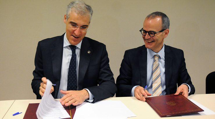 Convenio para reformar e mellorar as instalacións do Polígono Empresarial de As Coiñás