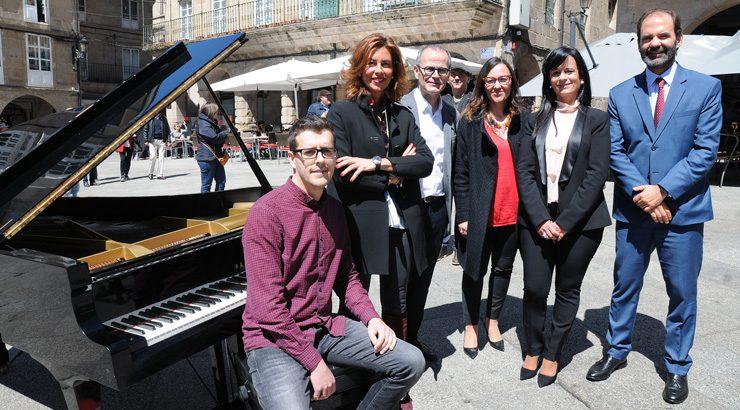 Os pianos sonarán en Ourense en setembro