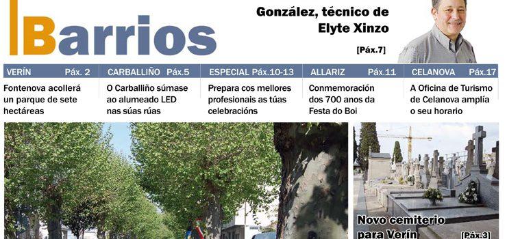 Publicado o número de abril do Barrios