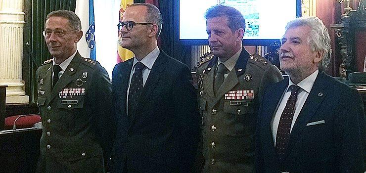 A Guardia Real exhibirase en Ourense