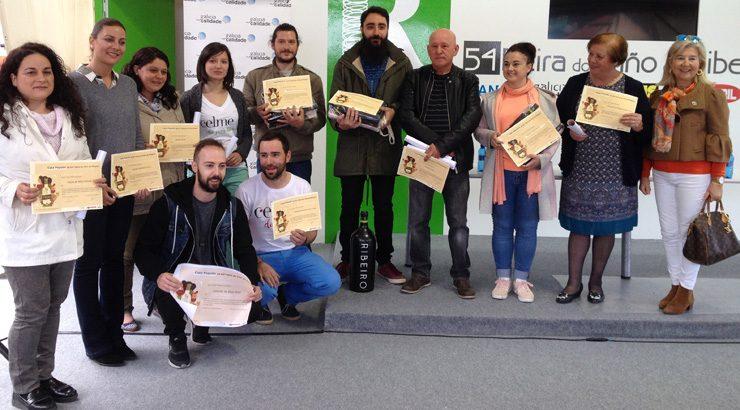 A Feira do viño do Ribeiro deu a coñecer aos seus gañadores