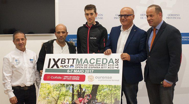 O Open de España de BTT decídese en Maceda