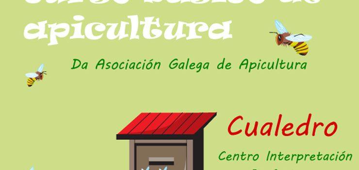 Curso de apicultura en Cualedro