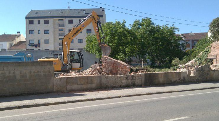 Remata a demolición do antigo edificio de Obras Públicas situado na Avenida de Castela