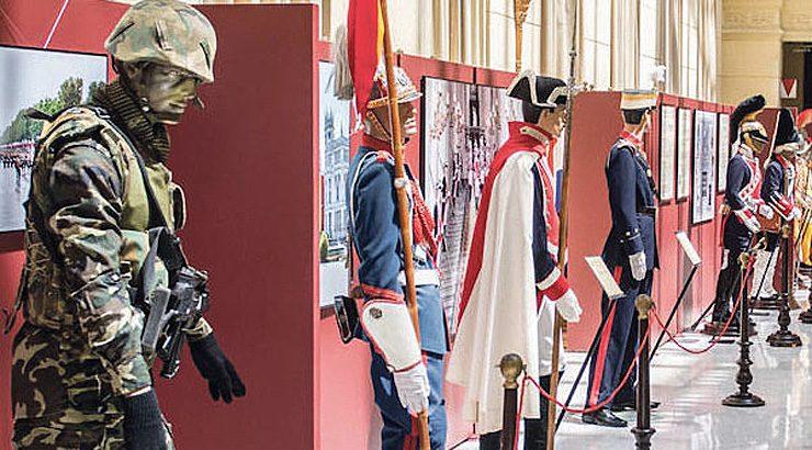 La Guardia Real, de exposición en Ourense