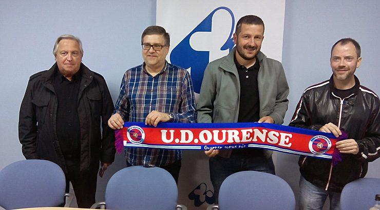 Fernando Currás, novo técnico da UD Ourense