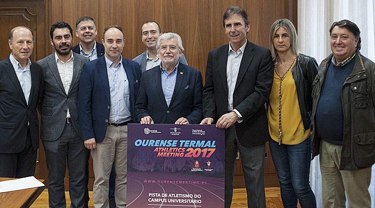 Volve o Ourense Termal Athletics Meeting