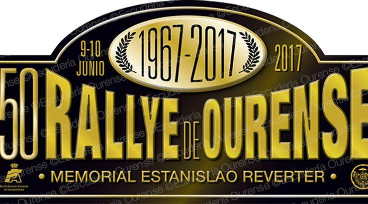 Bodas de ouro do Rali de Ourense