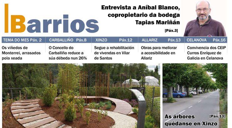 Publicado o número de maio do Barrios