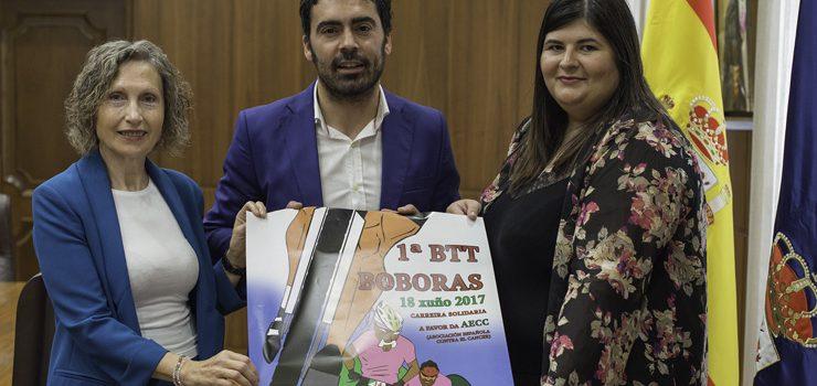 BTT solidario en Boborás en favor da AECC