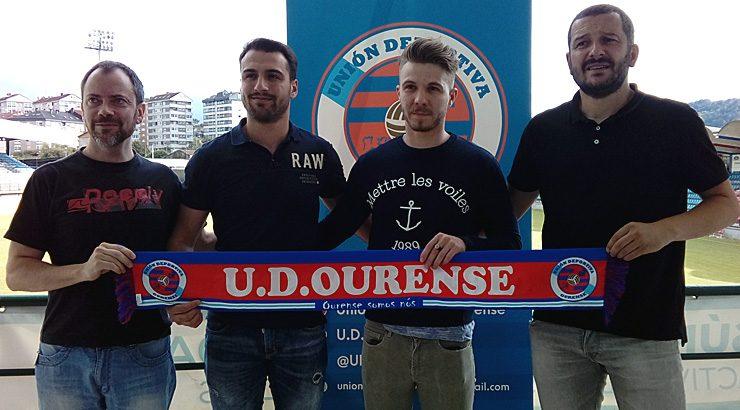 Joni e Codeso reforzan á UD Ourense