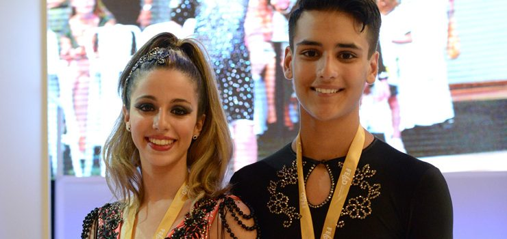 Los ourensanos Joel Cruz Cadaya y Ada María Rúa Cid, Campeones de España Junior de Salsa Cuban Style