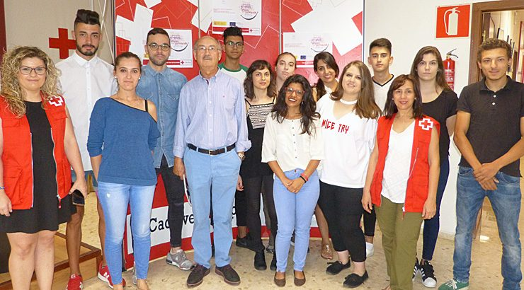 """Cruz Roja clausura el proyecto """"Aprender Trabajando para Jóvenes de Garantía Juvenil"""""""