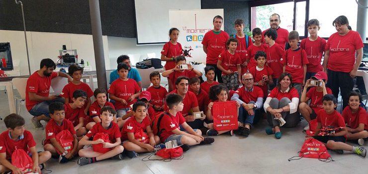 O campamento tecnolóxico La Molinera Kids permitirá que nenos e adolescentes experimenten coa ciencia