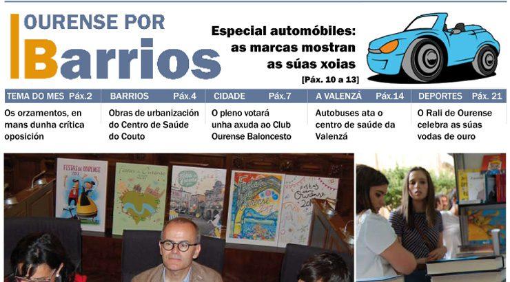 Publicado o número de maio do Ourense por Barrios