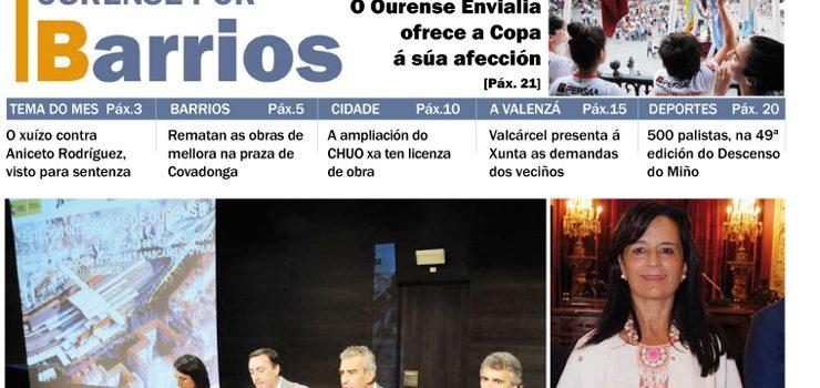 Publicado o número de xuño do Ourense por Barrios