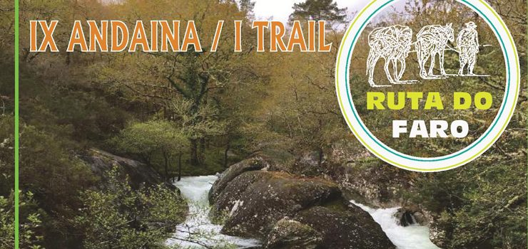 "IX andaina e I trail ""Ruta do Faro"" de Avión"