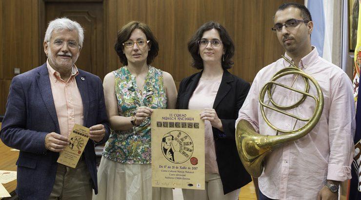 """A II edición do curso de """"Música antiga"""" achega estas melodías a aulas e escenarios"""