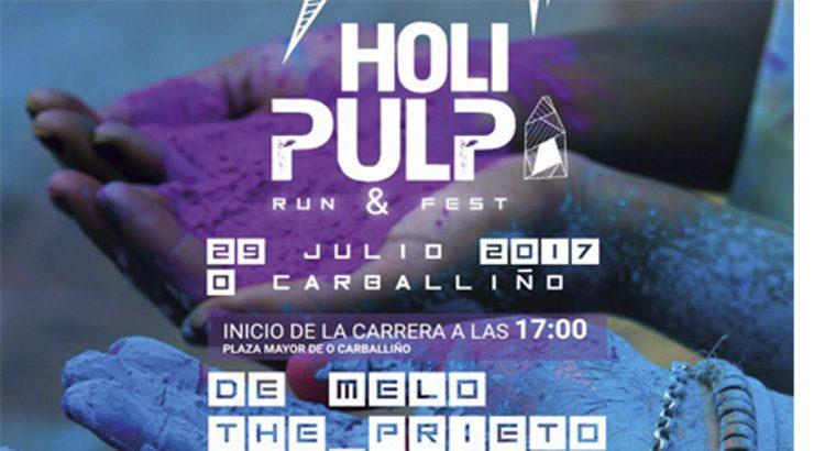 O Carballiño organiza o Festival Holi Pulpo