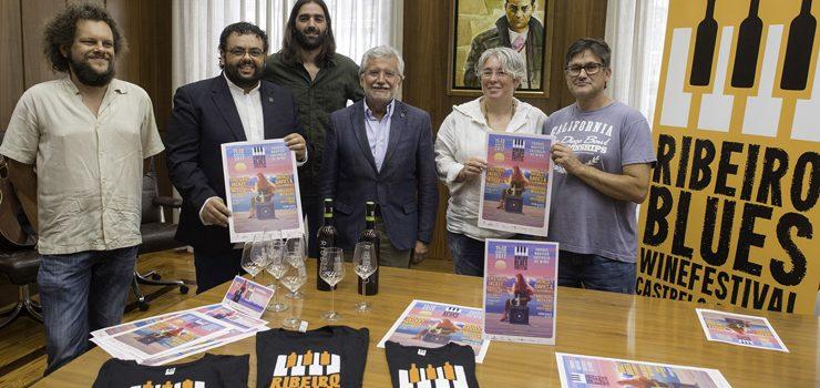 """Música, viño e gastronomía no IV """"Ribeiro Blues Winefestival"""""""
