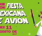 """Avión celebrará a XIII edición da súa """"Festa Mexicana"""""""