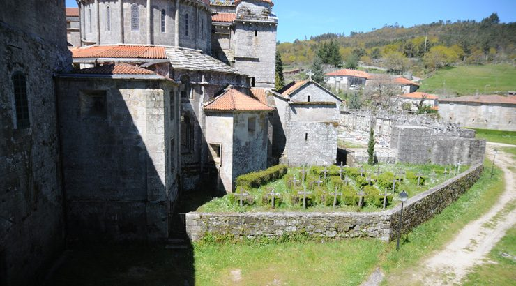 A Xunta investirá 800.000 euros na restauración do Mosteiro de Oseira
