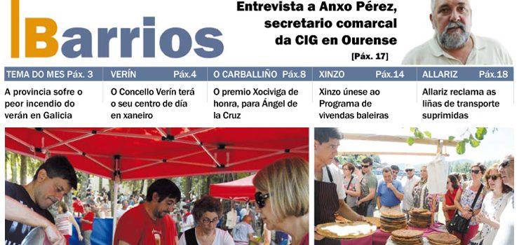 Publicado o número de agosto do Barrios