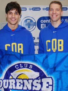 Ahonen e Rodríguez, presentados