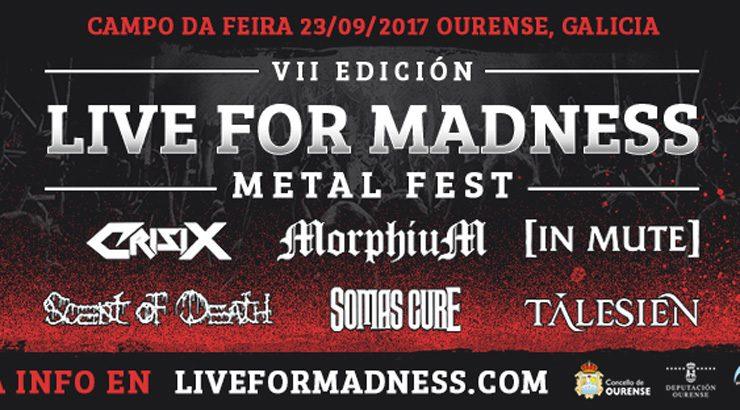 O Live for Madness chega este sábado ao Campo da Feira