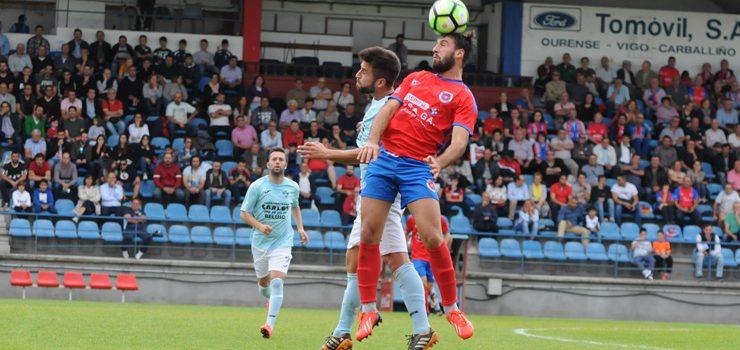 A UD Ourense mantén a racha e vence a Beluso
