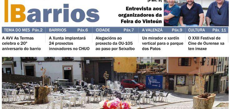 Ourense por Barrios agosto