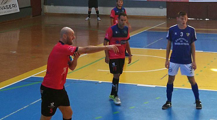 El Sala Ourense logra vencer ao Ribeira