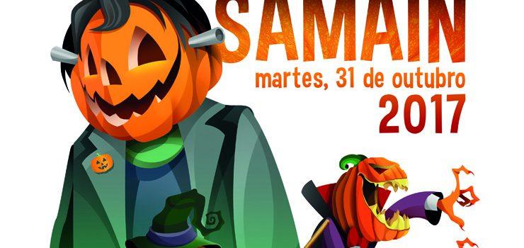 O cartel do Samaín'17, obra do deseñador gráfico castellonense Juan Diego Ingelmo