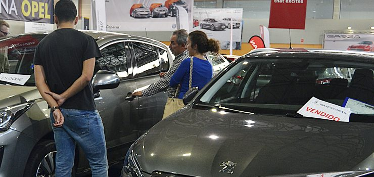 380 vehículos vendidos en el Salón da Ocasión