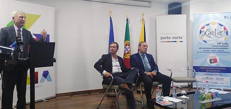 Xantar participa como invitado especial en la presentación de los Fines de Semana Gastronómicos de Porto e Norte